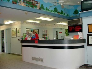 Our Reception Area at Pet Authority Animal Hospital of Waterford.